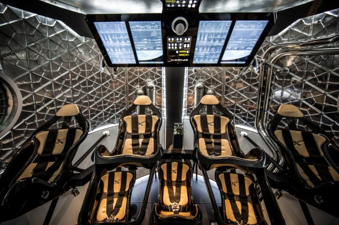 Inside Space X's Dragon Spacecraft