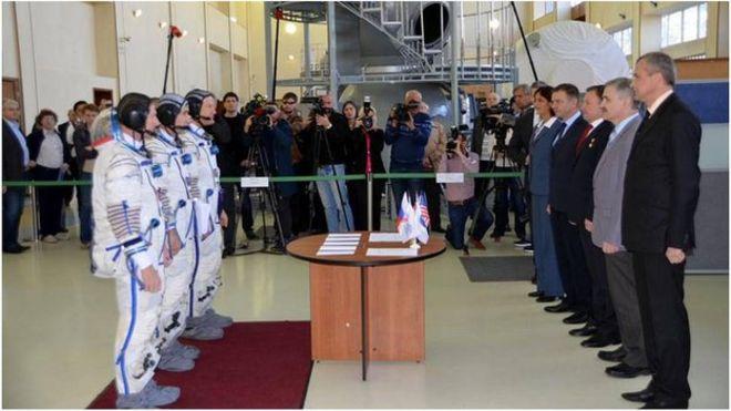 Tim Peake Passes Final Soyuz Exam