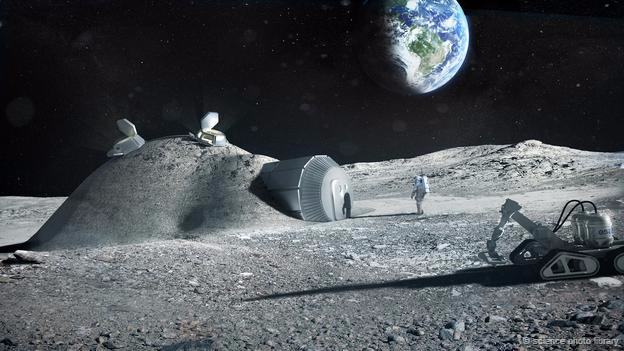 Building a 'village' on the moon – ESA Director