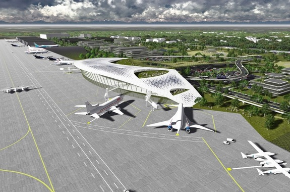 Houston Announces Spaceport, by Robert Z. Perlman