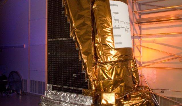 The Kepler telescope testing before launch. Photo credit: NASA