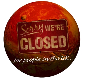 mars closed