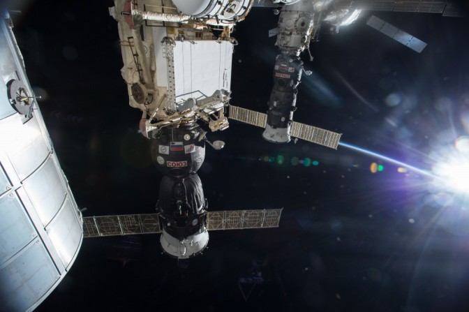 Russian re-supply mission success at ISS