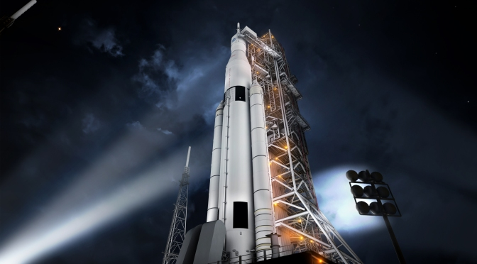 Update on NASA's Space Launch System Desgin