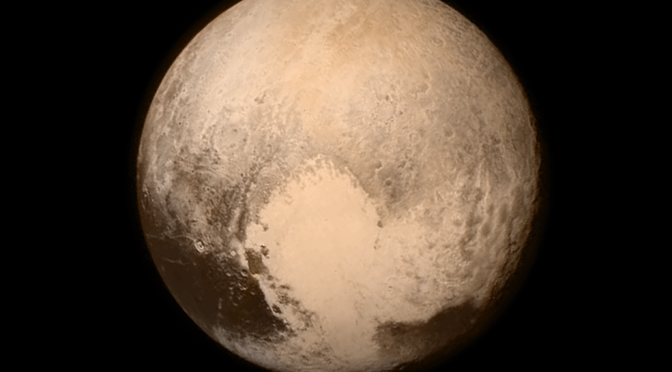 New Horizons is at Pluto