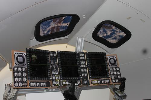 Inside NASA's glass Orion cockpit