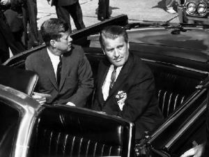 Former Nazi SS officers Werner Von Braun with US President John F. Kennedy. Photo credit: NASA