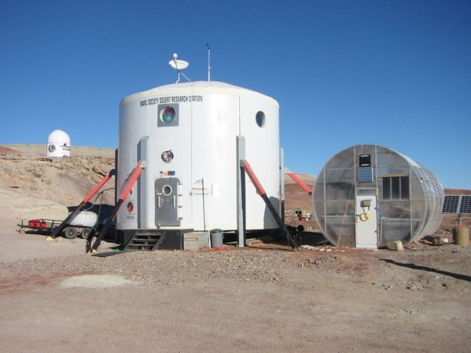 Help the US Mars Society re-build their Hab – time running out  with their crowdfunding campaign