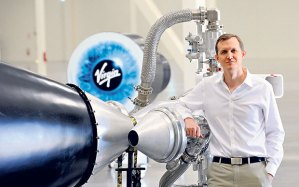 George Whitesides, Virgin Galactic CEO. Photo credit: Virgin alactic