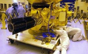 New Horizons under construction. Credit: NASA