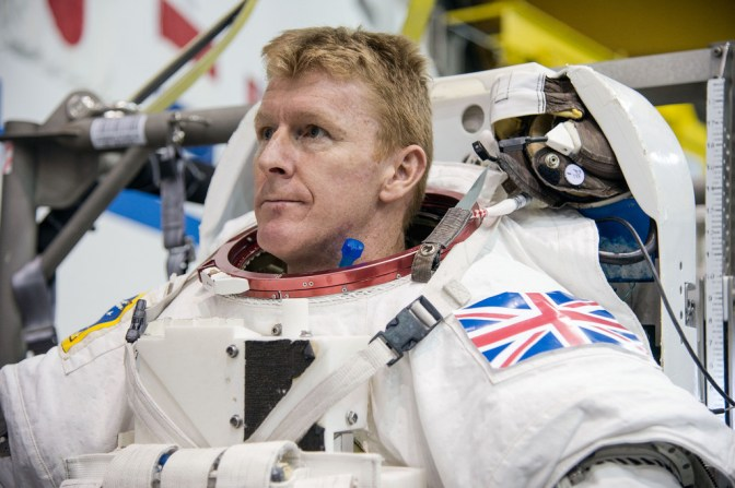 Last UK Appearance for Tim Peake prior to launch for ISS