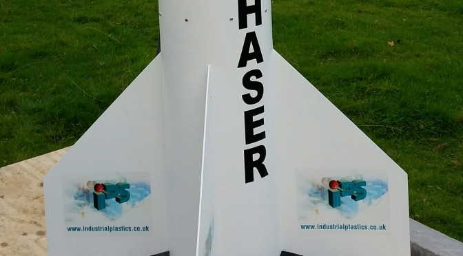 Starchaser Industries Launch in Cheshire