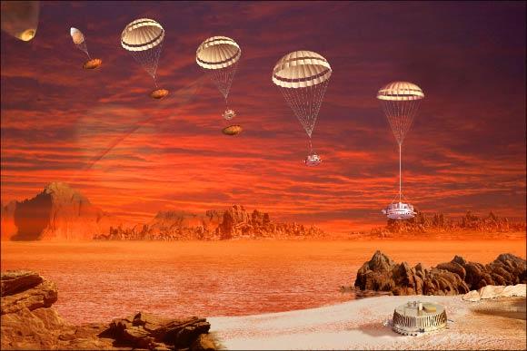 Titan's Magic Islands