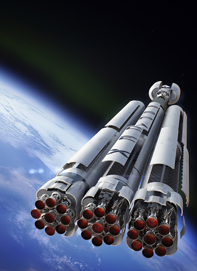 Space X's Falcon Heavy is a go for launch in Spring 2016