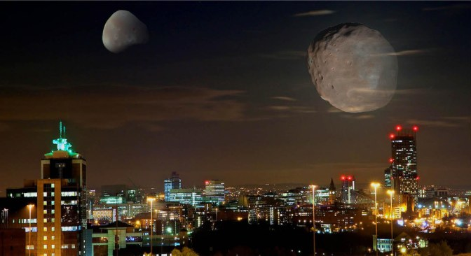 two moons over Mcr