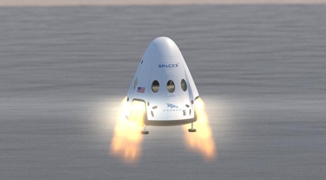 Space X To Test DragonFly