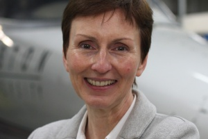 First British astronaut Helen Sharman.