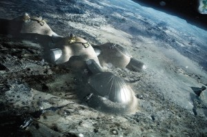 ESA plans to collaborate with Russia on the Luna 25 mission, and may end up sharing a lunar colony. Credit: ESA