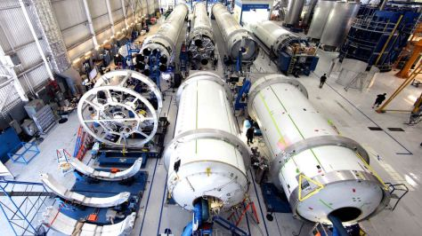 Space X facility, once for 737's, now making science fiction reality.Credit: Space X